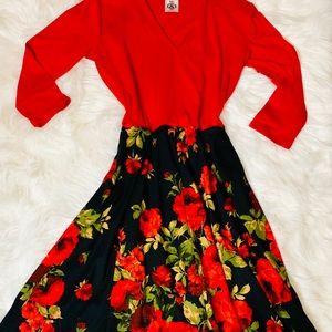 Agnes & Dora Essential Midi Dress-XS